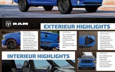 RAM 1500 Sport Hydro Blue