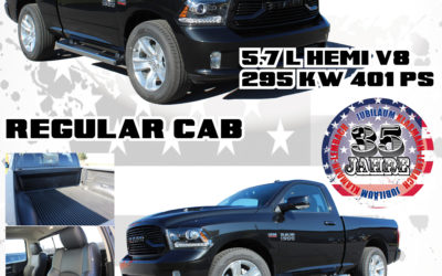 Neu eingetroffen: RAM 1500 Sport Regular Cab